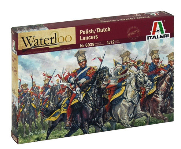 Napoleonic Dutch-Polish Lancers- Re-release